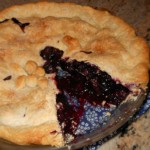 This looks yummy! Anyone want to share a special recipe for blueberry pie?